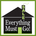 Subject: Everything Must Go Sale Logo; Date: May 2005; Designer: Carrie Scherpelz