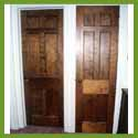 Subject: Solid Walnut Doors; Date: August 31, 2004; Photographer: Sonya Newenhouse